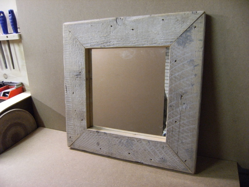 spiegels in steigerhout
